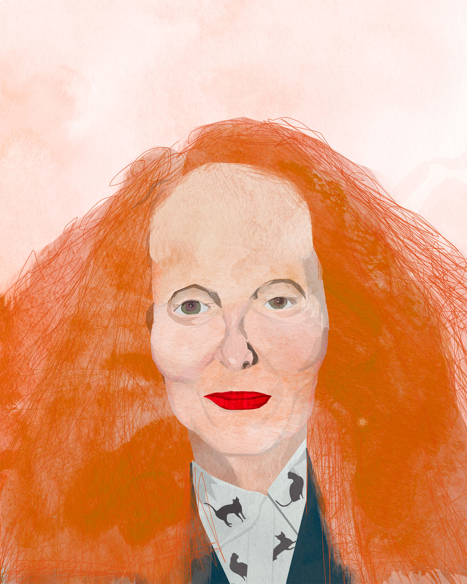 tram nguyen grace coddington illustration