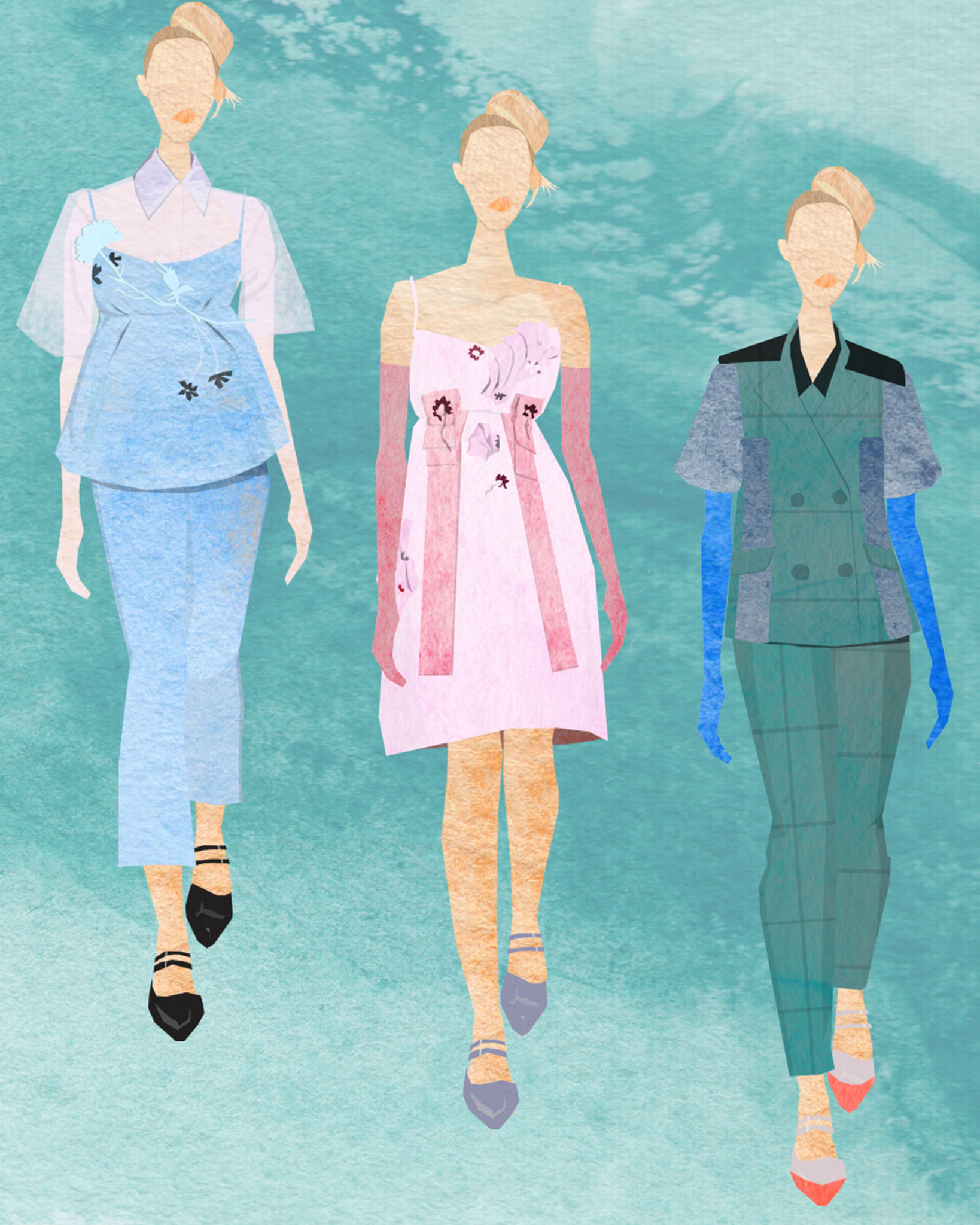 tram nguyen prada aw15 illustration